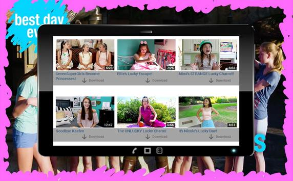 SevenSuperGirls Fans apk screenshot