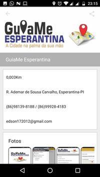 Guia Comercial Esperantina screenshot 1