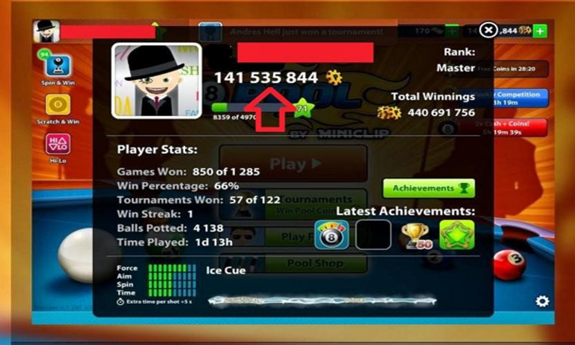 Coins 8 Ball Pool for Android - APK Download