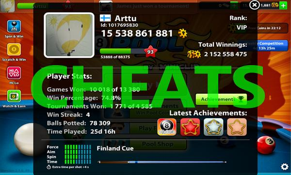 8 ball pool hack mod apk download for android