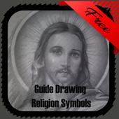 Guide Drawing Religion Symbols icon