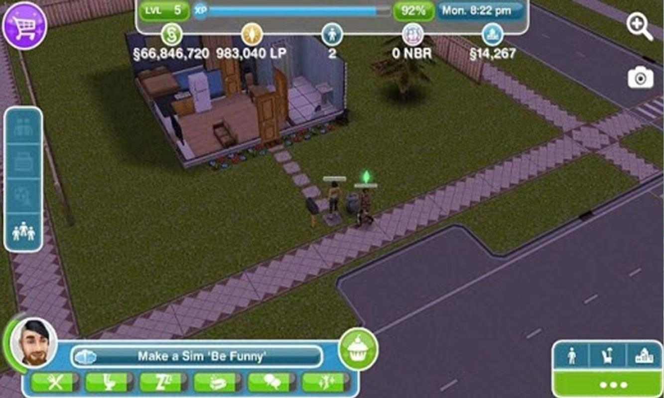 sims freeplay unlimited money android