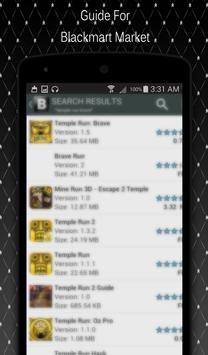 Guide For BlackMart-Apps screenshot 1