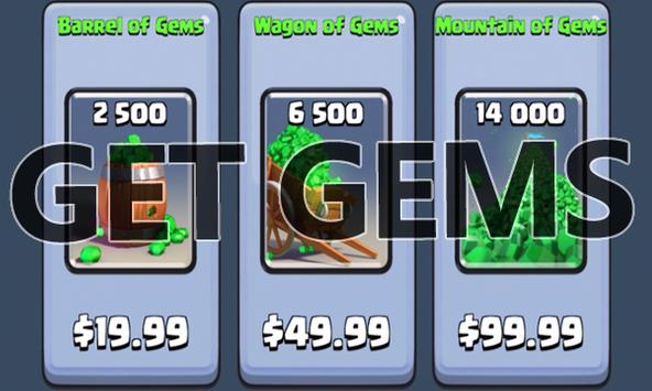 Coins Gems For Clash Royale poster