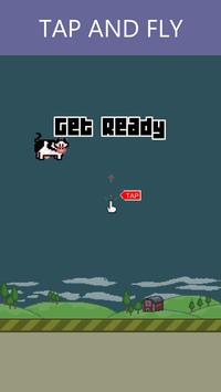 Flappy Cow poster