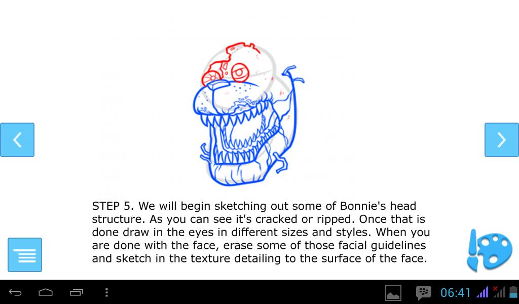 How To Draw Nightmare Bonnie FNAF for Android - APK Download
