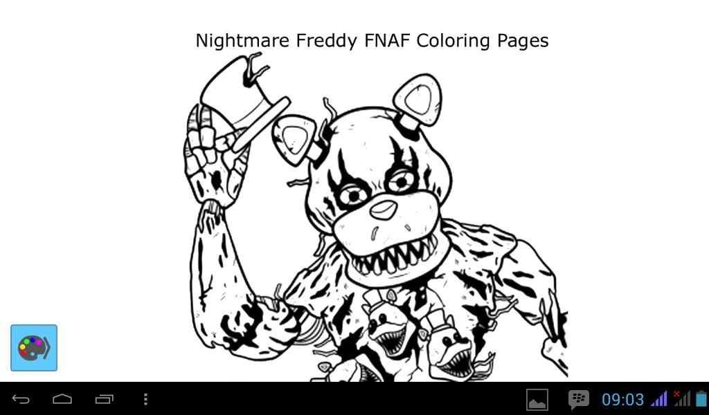 How To Draw Nightmare Freddy Fnaf For Android Apk Download