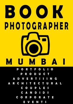 Book Photographer Mumbai apk screenshot