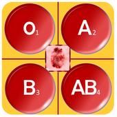معرفة فصيلة دمك بالبصمة prank icon