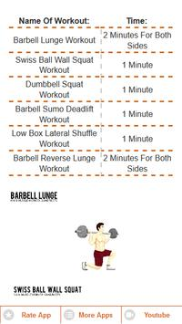 Leg Fitness Challenge For Weight Loss! Free App for Android