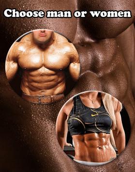 Gym Body Abs Photo Editor apk screenshot
