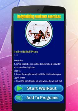 Bodybuilding Workout Exercises screenshot 4