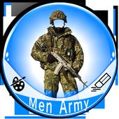 Men Army Dress Photo Editor icon