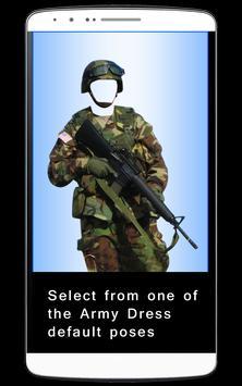Men Army Dress Photo Editor poster