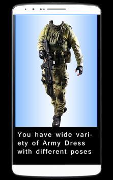 Men Army Dress Photo Editor screenshot 1