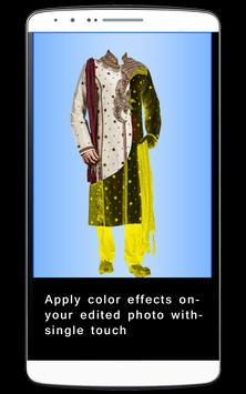 Men Sherwani Dress Foto Editor screenshot 2