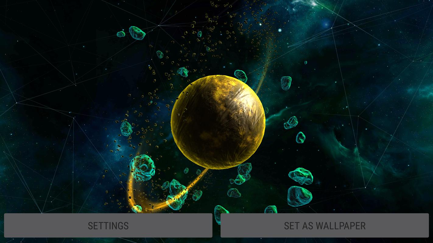 Gyro deep space planet 3d live wallpaper for android apk - Deep space 3 wallpaper engine ...