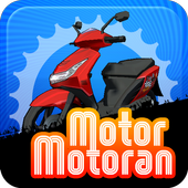 Motor-motoran icon