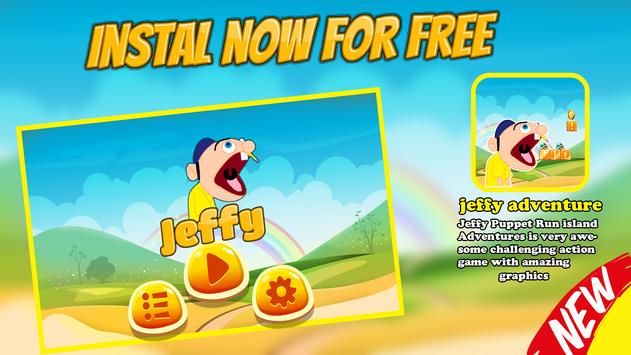 Jeffy Adventure : Run Subway apk screenshot