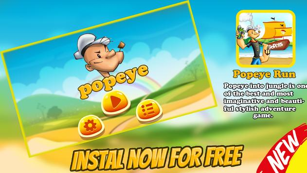 Popaye Jungle Adventure apk screenshot