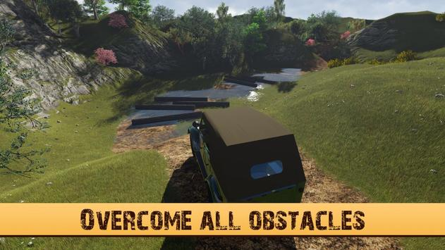 4X4 GAZ Hill Climb in Suv 3D apk screenshot