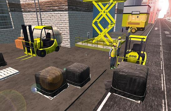 Forklift 3D Game screenshot 11