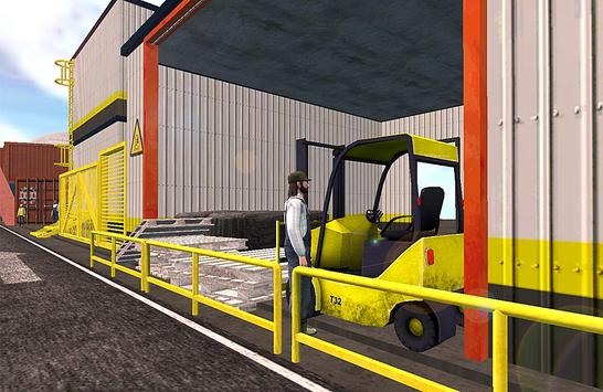 Forklift 3D Game screenshot 1