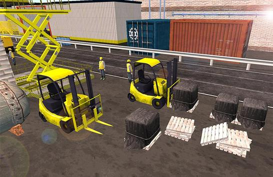 Forklift 3D Game screenshot 2