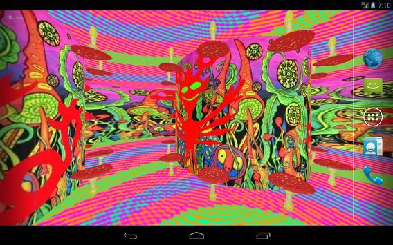 Psychedelic 3d Live Wallpaper Apk Screenshot