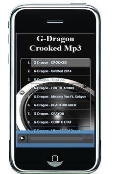 G-Dragon Crooked Mp3 apk screenshot