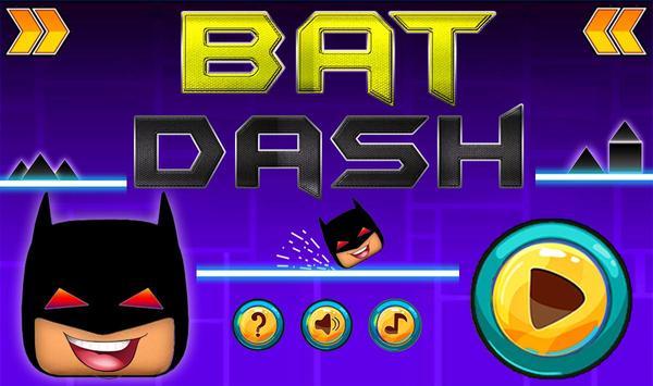 Geometry Bat Dash poster