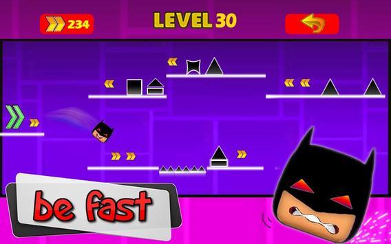 Geometry Bat Dash screenshot 2