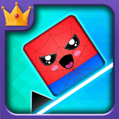 Geometry hero-Magic Spider Dash world icon