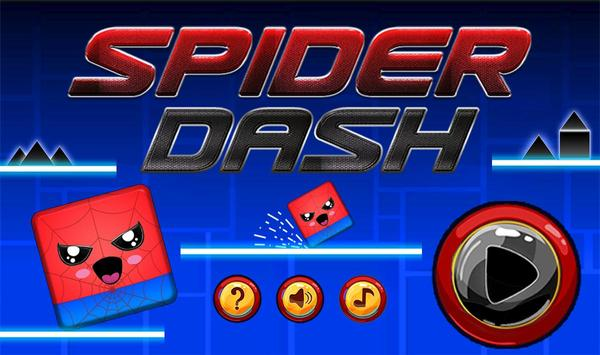 Geometry hero-Magic Spider Dash world screenshot 4
