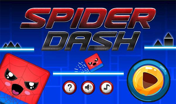 Geometry hero-Magic Spider Dash world poster