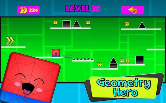 Geometry hero-Magic Spider Dash world screenshot 1