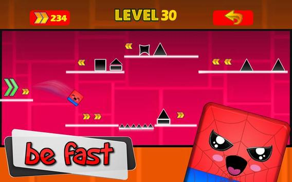 Geometry hero-Magic Spider Dash world screenshot 3