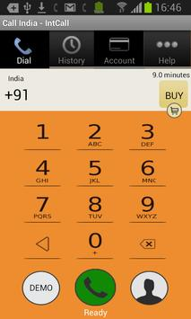 Call India - IntCall poster