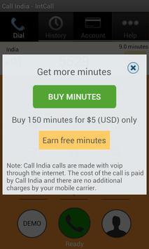 Call India - IntCall تصوير الشاشة 2