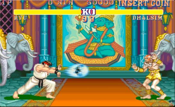 Street Fighter II poster