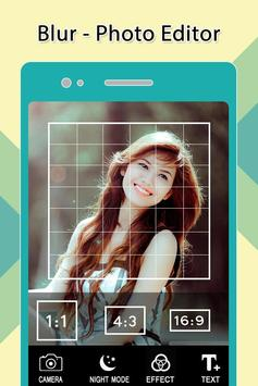 Blur Photo Editor-Camera apk screenshot