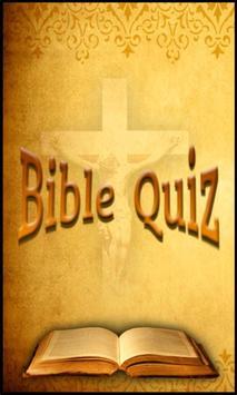 Bible Quiz poster