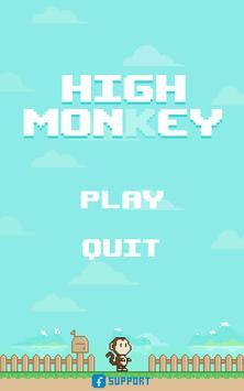 Jump High Monkey poster