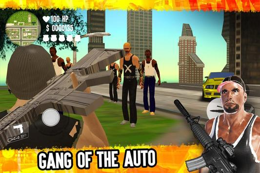 Grand Auto Gangsters 3D poster