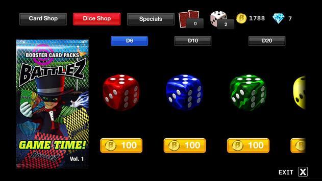 BATTLEZ ® Cards & Dice Game™ apk screenshot