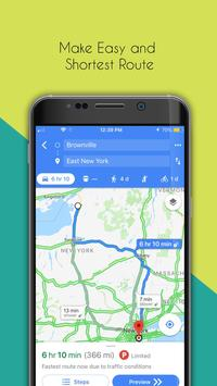 免费GPS地图 - 导航 apk 截图