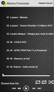 músicas francesas gratis screenshot 2