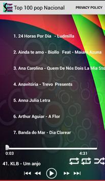 Top Músicas Pop Nacional poster