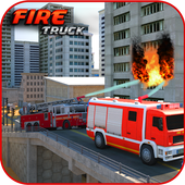 Fire Truck Emergency Rescue icon