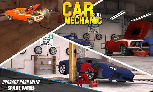 Car Mechanic Workshop poster